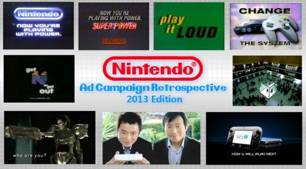Nintendo Ad Campaign Retrospective 2013