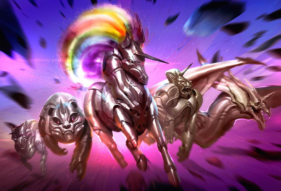 robot unicorn attack 3 evolution