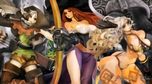 Dragon's Crown - Elf, Sorceress, and Amazon