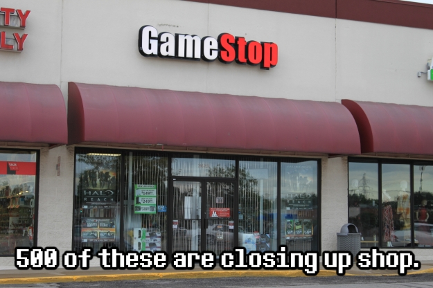 Gamestop closing