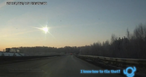 Russian Meteor and a Geolytian