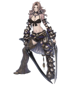 All that crap on Syrenne's leg? Removed a huge chunk of it (which is purely aesthetic and has no adverse effect on stats).