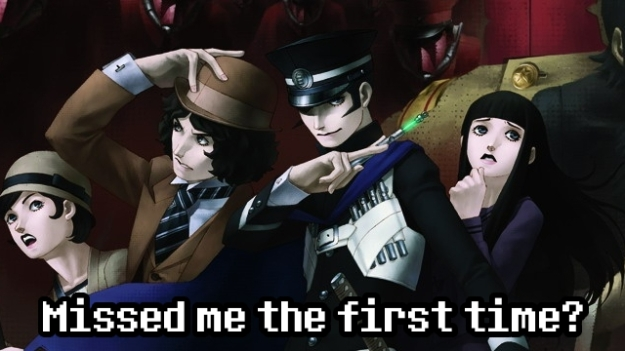 Raidou's back