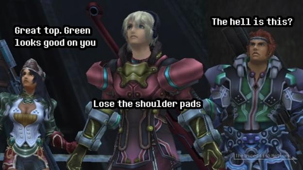Xenoblade Armor