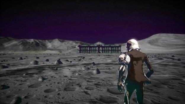 Killer Is Dead Mondo on the Moon