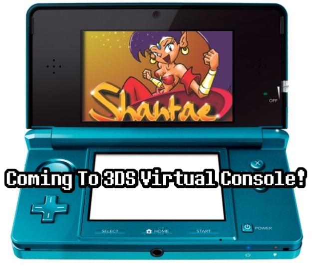 Shantae Virtual Console