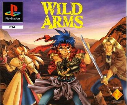Wild ARMs PAL boxart