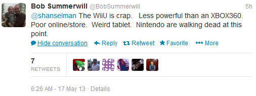 Bob Summerwill tweet