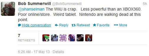 Bob Summerwill tweet
