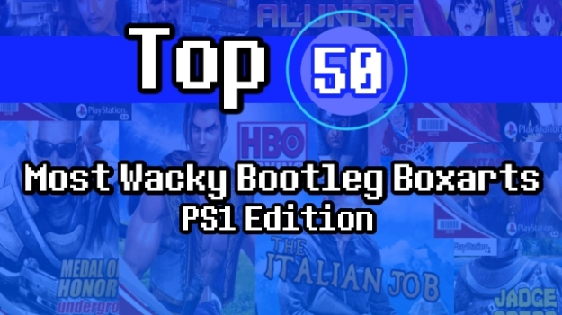 Top 50 Most Wacky Bootleg Boxarts: PS1 Edition | The Wired