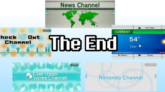 Wii Channels Ending