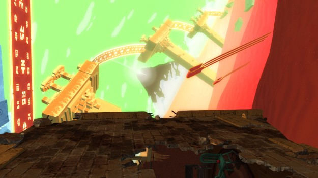 Playstation All-Stars Journey-Gravity Rush Stage (2)