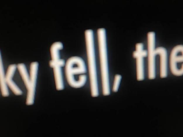 Sky fell, the