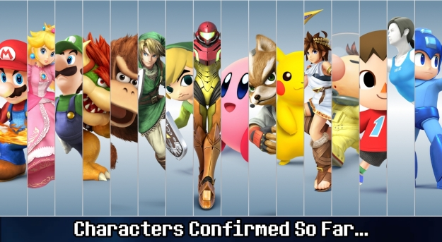 Characters so far for SSB4