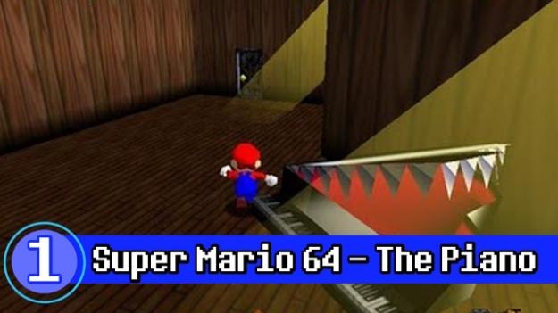 Number 1 - Super Mario 64 Piano