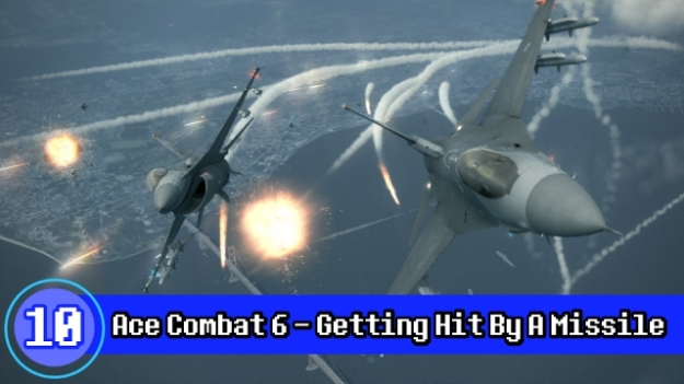 Number 10 - Getting Hit By A Missile