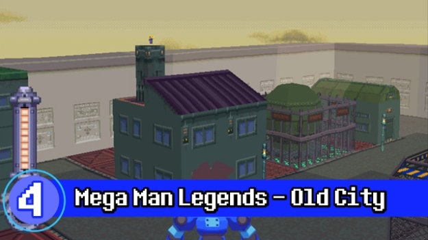 Number 4 - Megaman Legends Old City
