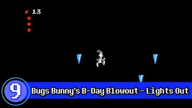 Number 9 - Bugs Buny Lights Out