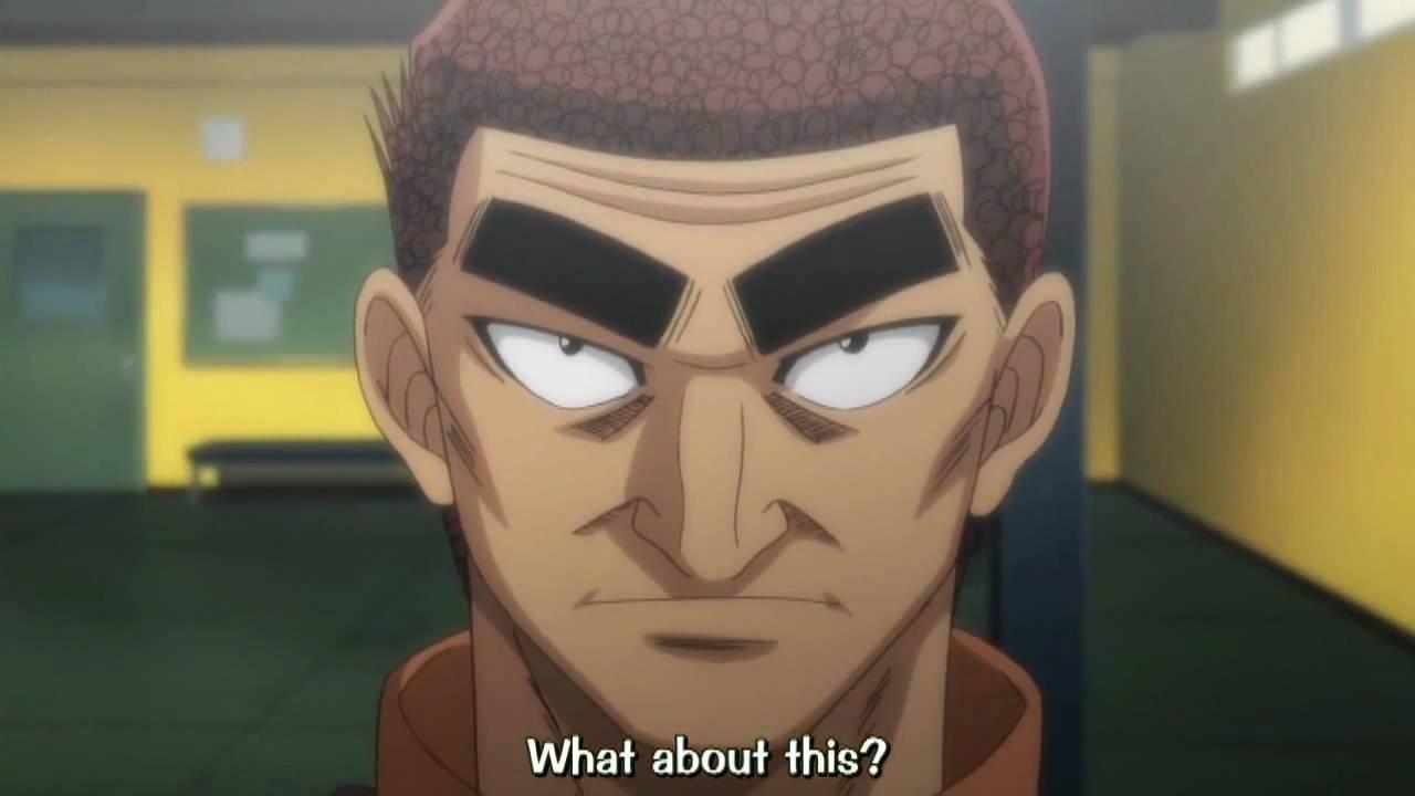 Anime Theater Hajime No Ippo Pt 2 New Challenger The