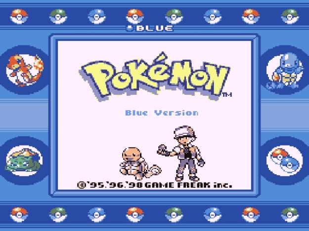 Pokemon Blue emulator