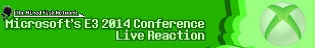 E3 2014 Microsoft header