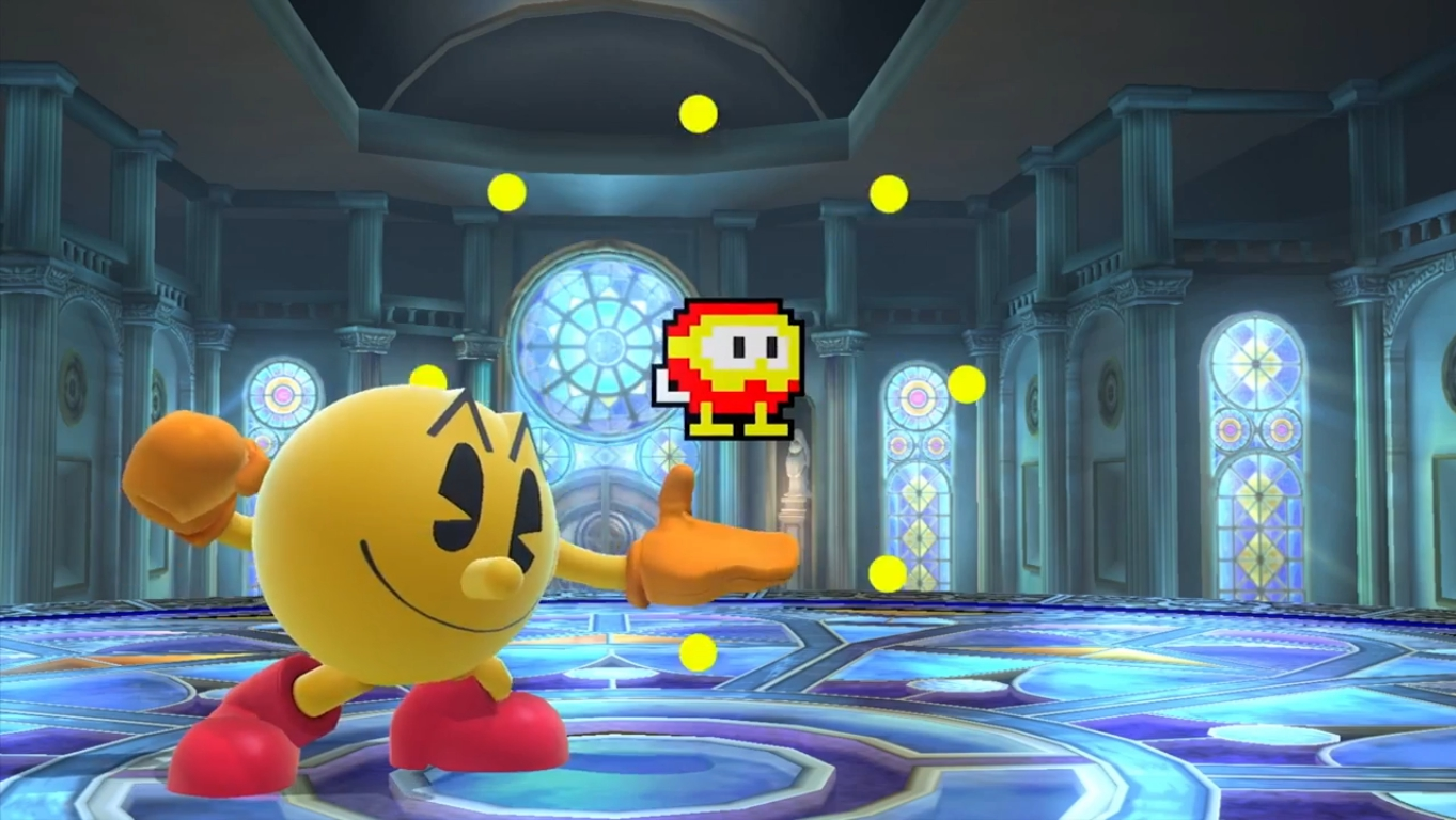 Let s watch and analyze the ssb4 pac man reveal trailer the wired
