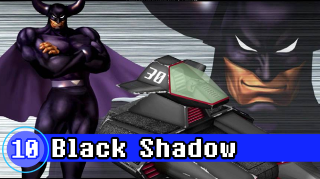Number 10 - Black Shadow