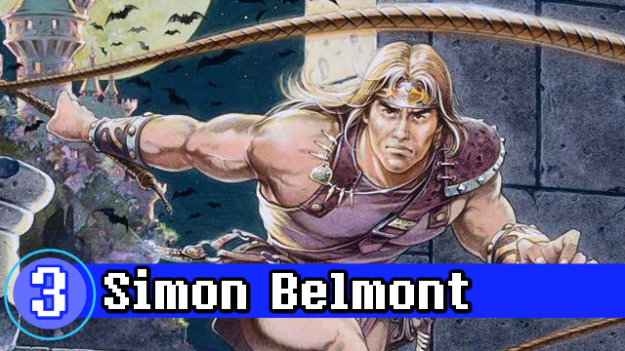 Number 3 - Simon Belmont