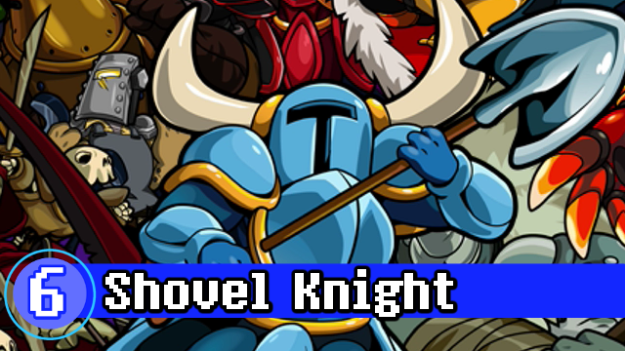 Number 6 - Shovel Knight