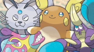 I love this gen so much, I'm even willing to forgive that some of the coloration looks like the artists were freebasing pastels. In their eyeballs.